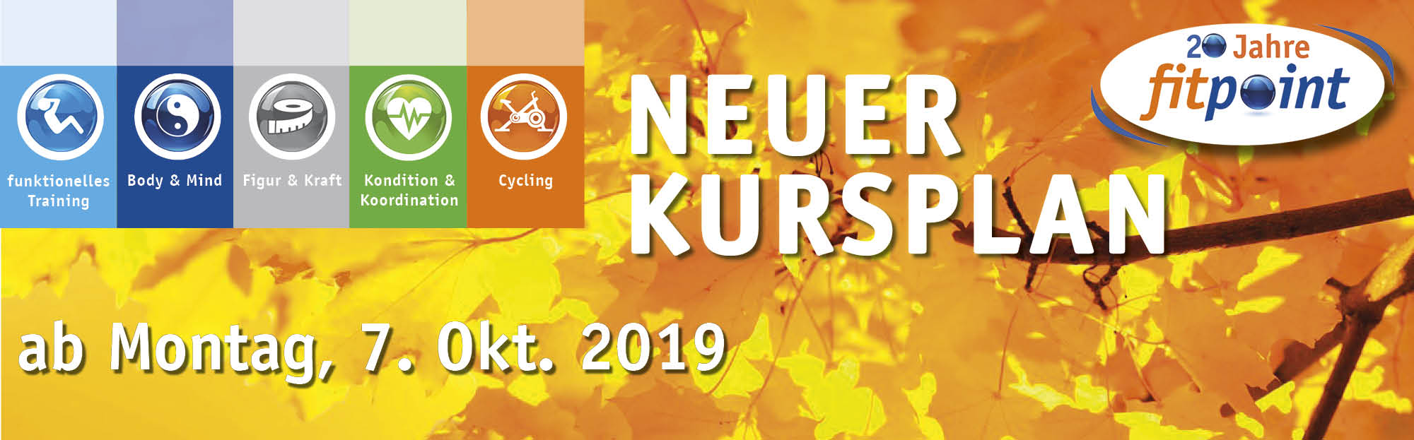 Neuer Kursplan ab 07.10.2019 Background