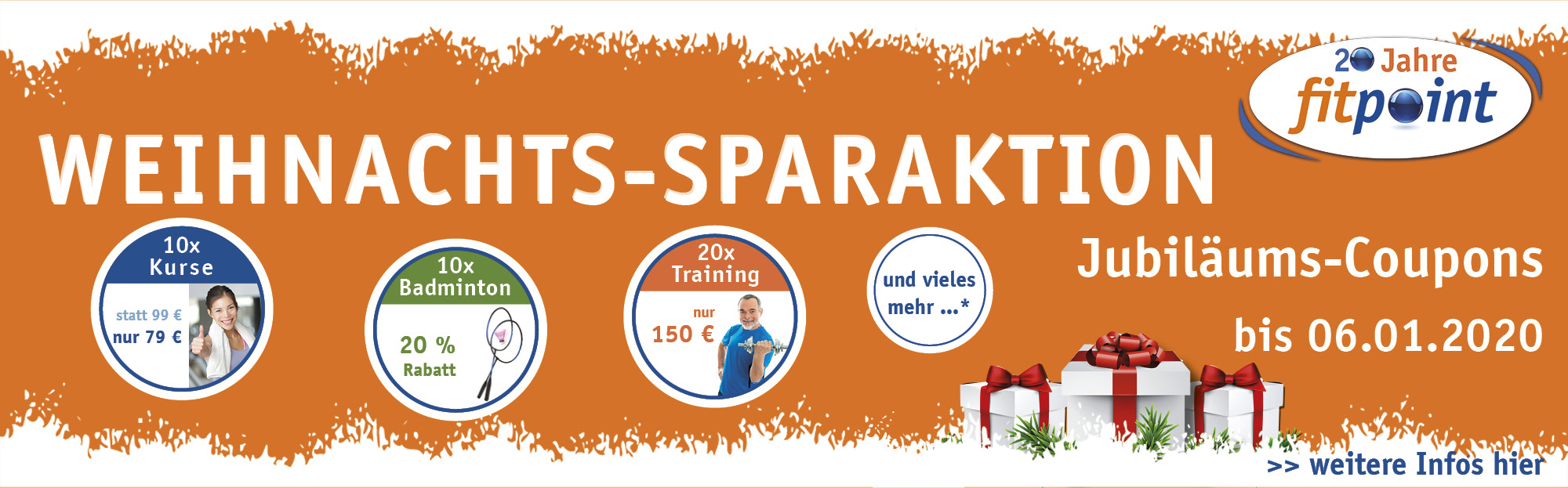 Weihnachts-Sparaktion Background