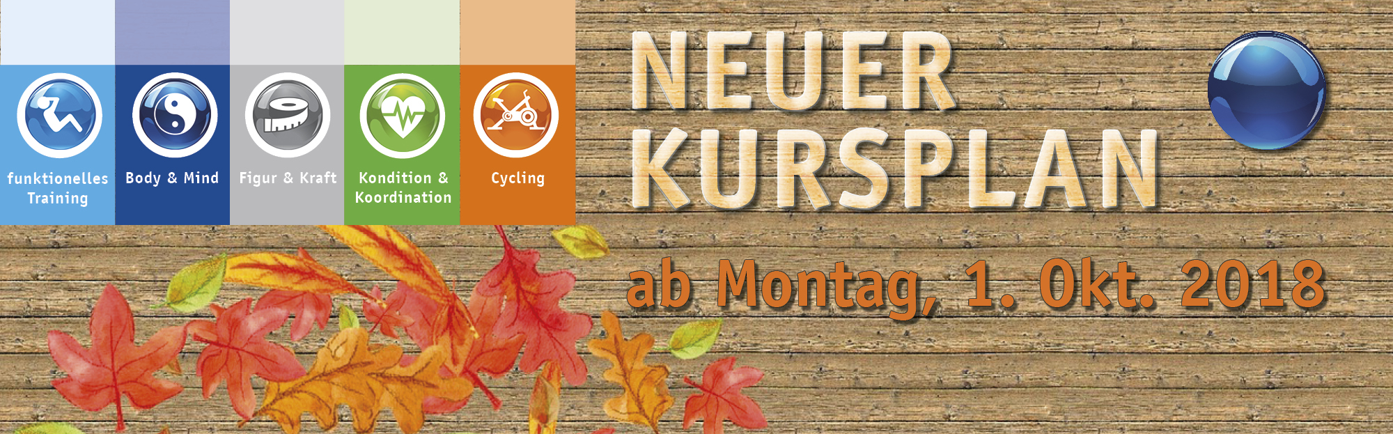 neuer Kursplan ab 01,10,2018 Background