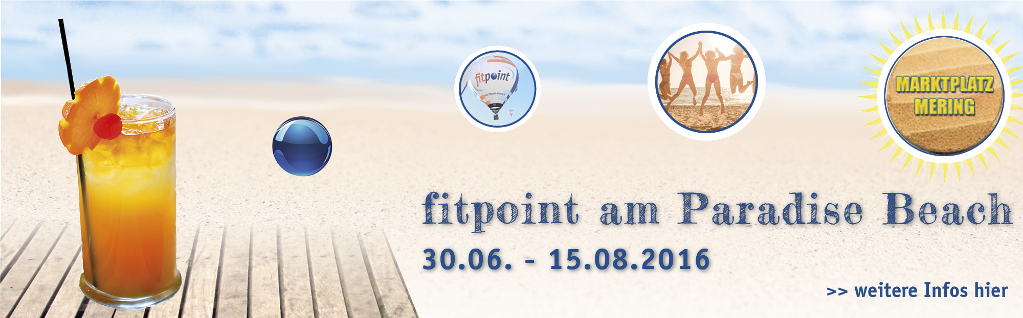 fitpoint am Paradise-Beach 2016 Background